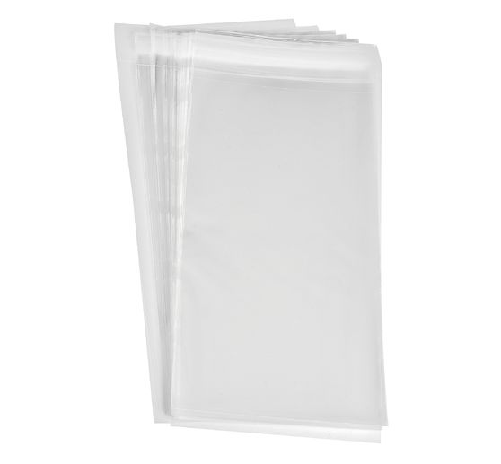 50 VBS Protective covers for cards, 11,6 x 25 cm