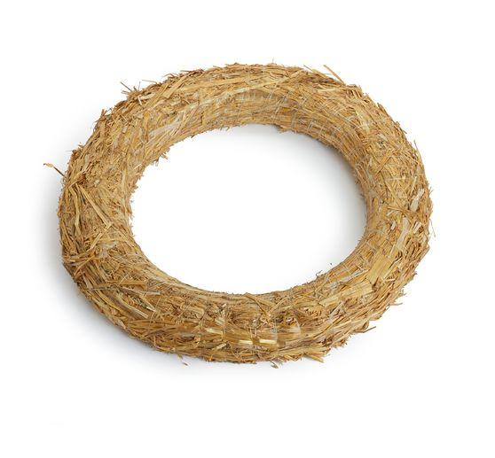 Straw wreath Ø 35 cm