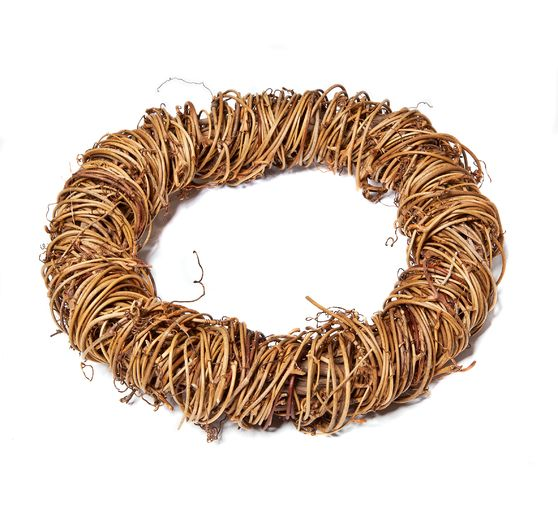 VBS Willow wreath, natural
