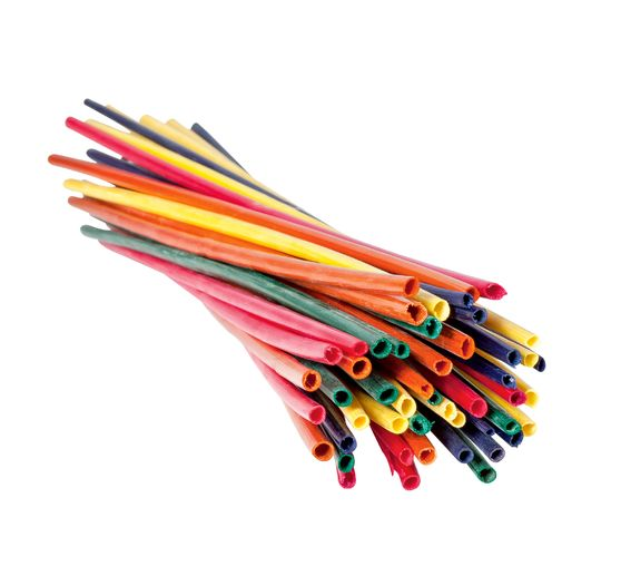 VBS Straws, Colored, 50 pieces