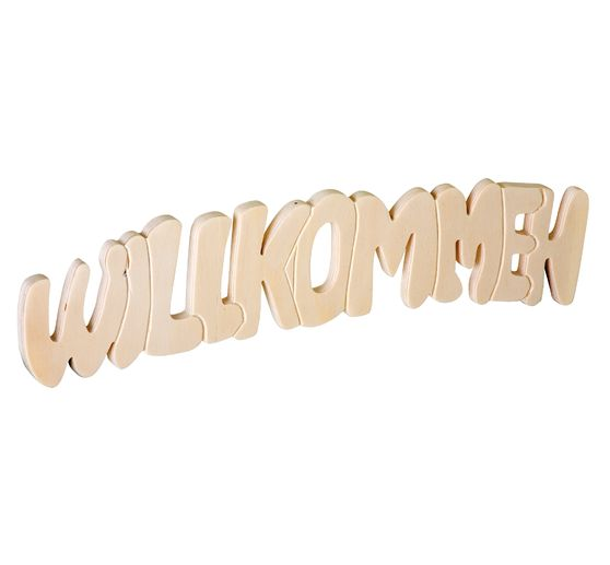 "VBS Wooden ""Welcome"" lettering"