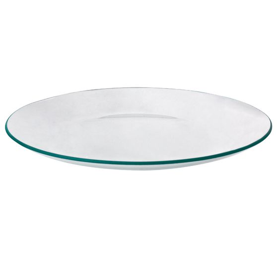 VBS Glass plate, round