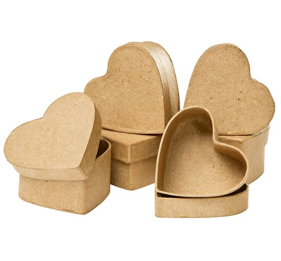 VBS Heart boxes, 6 pieces